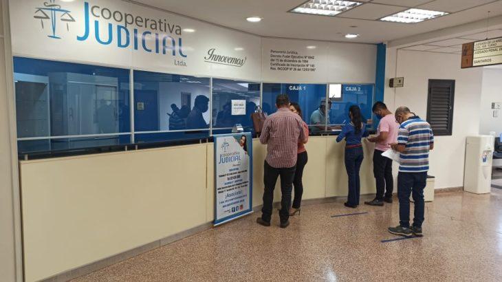 Habilitan Oficina de la Cooperativa Multiactiva Judicial Ltda en el Palacio de Justicia de Pedro Juan Caballero