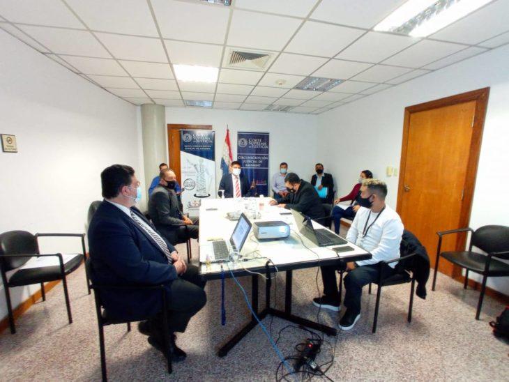 Jornada de monitoreo y evaluación en Amambay
