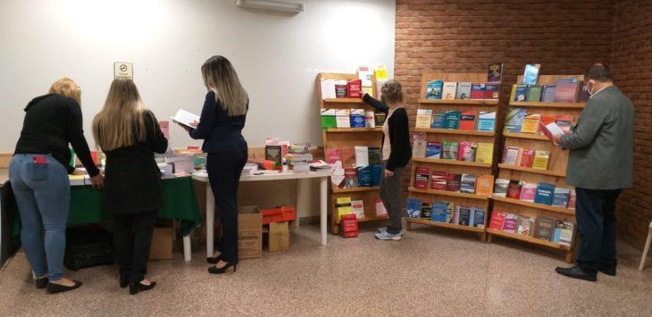 Exposición de libros jurídicos