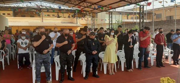Conmemoraron día de la Virgen de la Merced en la Penitenciaría Regional de Amambay